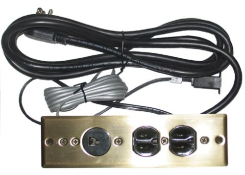 SPECIALTY LIGHTING 2 OUTLET RECESS MNT W/PHONE POWER DISTRIBUTION SL5000.0102