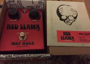 Way Huge Red Llama MKII Overdrive Guitar Effect Pedal Mount Colah Hornsby Area Preview