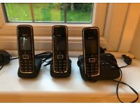 Answerphone and handsets