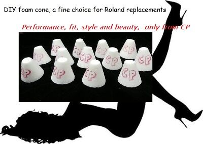 (DIY Trigger Cone by Convertible Percussions (Roland replacement foam cone))