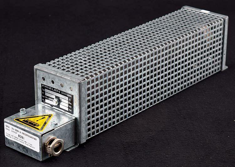 Frizlen FZG 300X45 16 Ohm 300W 1-Tube Cemented Wirewound Tubular Fixed Resistor
