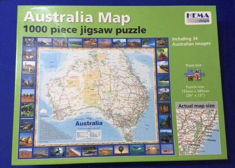 Australia Map Jigsaw.Australia Map Jigsaw Other Books Music Games Gumtree
