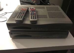2 décodeurs Shaw Direct HD dont 1 enregistreur