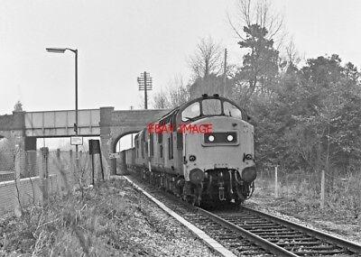 PHOTO  CLASS 37 LOCOS 37206-37293 AT ALDERMASTON 1978 (2)