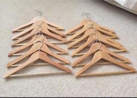 Child- Kiddies Wooden Hangers