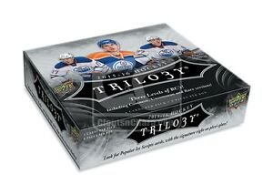 2015-16 Upper Deck Trilogy Hockey Trading Cards Hobby Box