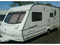 2006 award daystar 4-5 berth caravan top of the range with a awning
