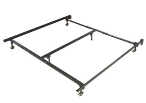 Metal bed frame king or queen size