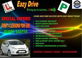 Driving lessons in north west london area