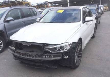 *****2015 BMW 335i F30 WHITE WRECKING PARTS - B21779 Villawood Bankstown Area Preview