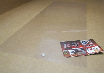 Pvc Sheet Film Sheet Clear .010 Thick X 20 Wide X 50 Length 6 Units