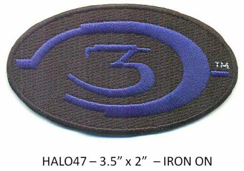 HALO 3 BLUE LOGO PATCH - HALO47