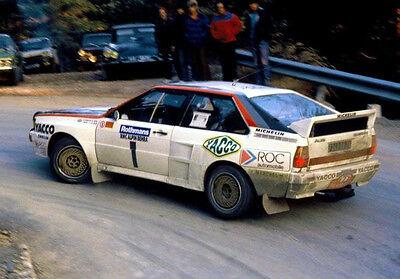 Audi Quattro A1 Homologation - Rallye / Racing / Motorsport - Gruppe B