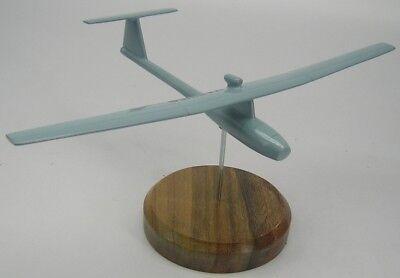 Aerovironment Fqm 151 Pointer Airplane Desktop Kiln Dry Wood Model Regular New