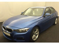 BMW 320d M Sport Auto Black Leather 2013 FROM £51 PER WEEK!