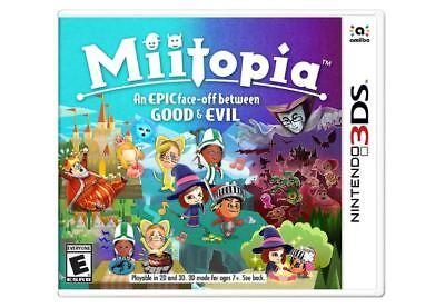 Miitopia  Nintendo 3Ds  2017