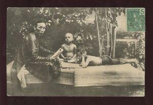 VIETNAM-1906-EARLY-UB-PPC-SCHOOLMASTER-SAIGON-HANOI-TPO