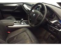Black Sapphire BMW X5 3.0TD Steptronic 2015 xDrive30d SE FROM £140 PER WEEK!