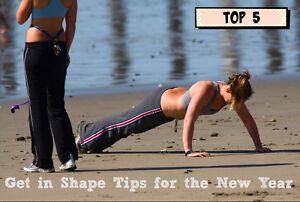 Top 5 Get in Shape Tips for the New Year