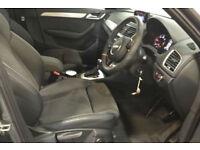 Grey AUDI Q3 4X4 1.4 1.6 1.8 2.0 TDI Diesel QUATTRO S LINE FROM £129 PER WEEK!