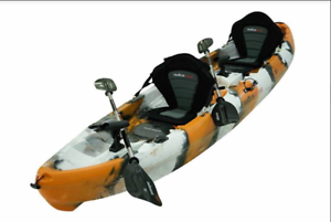 Kayak for Families, Couples or Single Paddler