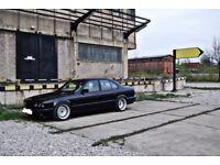 Bmw e34 banded steel wheels, 17 inch, 5x120 slammed stance rat MINT