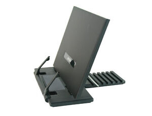 Small Size Portable Steel Reading Desk Holder Book Stand  Tilt adjustment