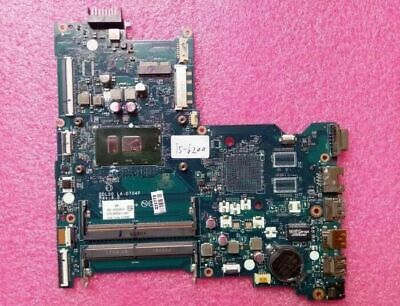 HP 14-A 15-AY 17-X SERIES INTEL I5-6200U CPU MOTHERBOARD 854937-001 860159-001