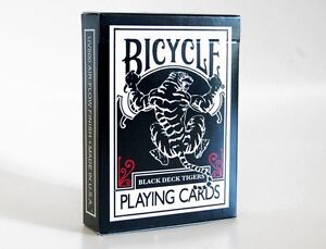 Mazzo-di-Carte-Bicycle-Black-Deck-Tiger-Red-by-Ellusionist-Bicycle-Tigers-Red