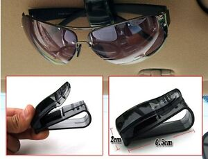 1Pc-Black-Car-Auto-Glasses-Sunglasses-Card-Visor-Pen-Business-Card-Clip-Holder