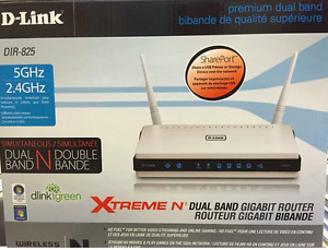 D-Link Extreme N Dual Band Gigabite Router
