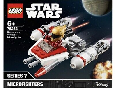 LEGO STAR WARS Toy Set 75263 Resistance Y-wing Microfighter