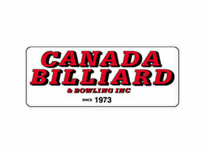 Exclusive Dealer for Canada Billiard tables