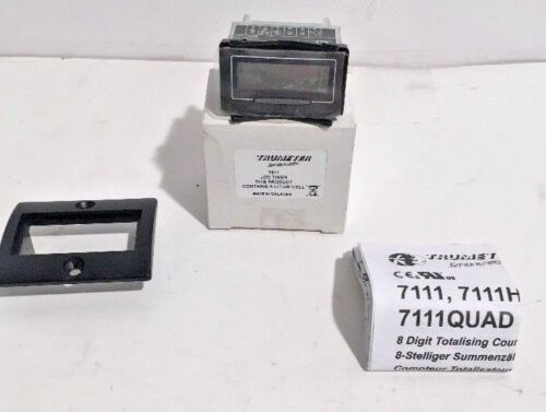 New Trumeter 7511 Self-Powered 8-Digit LCD Electronic Timer