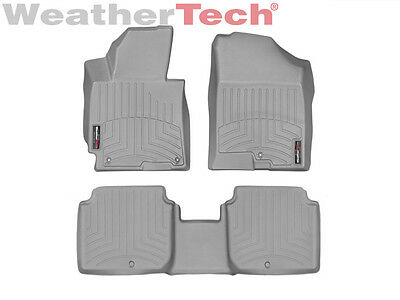 WeatherTech Floor Mats FloorLiner for Hyundai Elantra - 2014-2016 - Grey