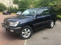 54 Reg TOYOTA LAND CRUISER AMAZON 4.2 TD *Fsh, Hpi Clear, MOT, 5 Speed Auto, 7 / 8 Seater* Diesel