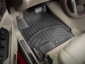 Set of Front Weathertech floor liners for 2010-16 Cadillac SRX