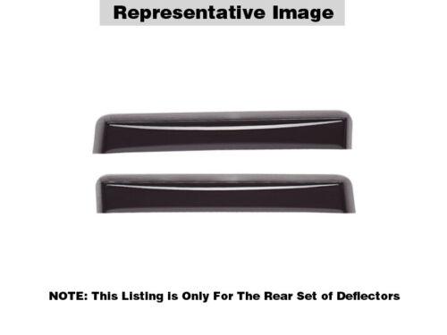 WeatherTech Side Window Deflectors BMW X3-2011-2017-81568