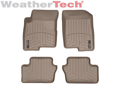 WeatherTech Car FloorLiner for Caliber/Compass/Patriot - 1st & 2nd Row - Tan
