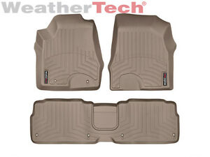 weathertech floor mats floorliner for lexus rx 350 2007 2009 tan. Black Bedroom Furniture Sets. Home Design Ideas
