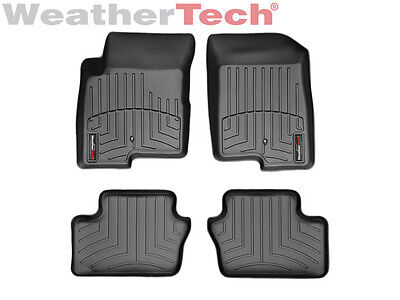 WeatherTech Car FloorLiner for Caliber/Compass/Patriot - 1st & 2nd Row - Black