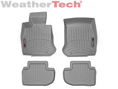 WeatherTech Floor Mats FloorLiner for BMW 6-Series/M6 Gran Coupe - Grey