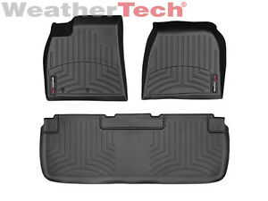 weathertech floor mats floorliner tesla model s 2012 2014 black. Black Bedroom Furniture Sets. Home Design Ideas
