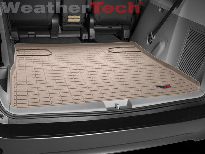WeatherTech Custom Fit Cargo Liners for Toyota Prius Tan