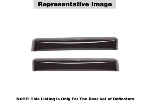 Dark Tint WeatherTech Side Window Deflectors for Honda Accord Coupe 2013-2017