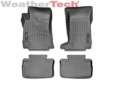 WeatherTech FloorLiner for Cadillac CTS Coupe 2011-2014 1st 2nd Row Black