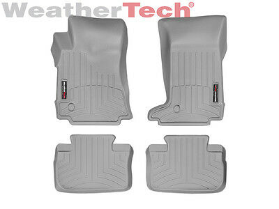 WeatherTech FloorLiner for Cadillac CTS Coupe 2011-2014 1st 2nd Row Grey