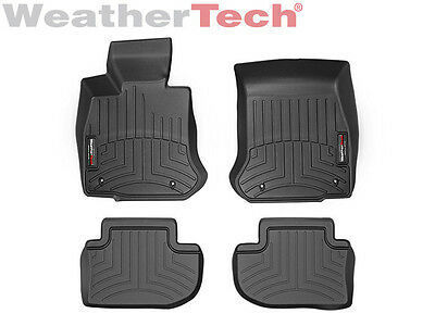 WeatherTech Floor Mats FloorLiner for BMW 6-Series/M6 Gran Coupe - Black