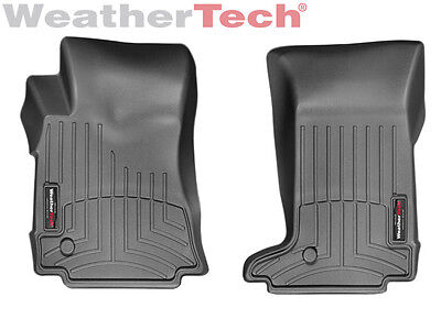 WeatherTech FloorLiner Mats for Cadillac CTS Coupe - 2011-2015 - 1st Row Black