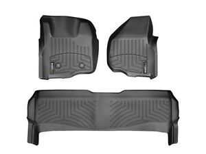 Front WeatherTech Floor Mats for 2011-2012 F250,F350,F-450,F-550